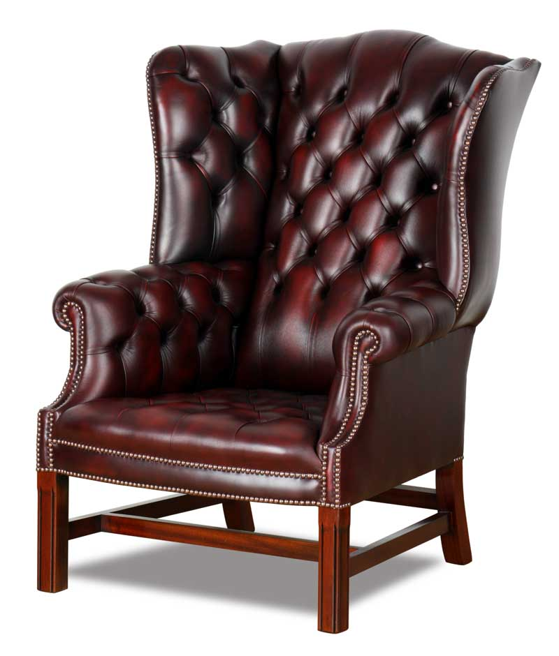 Chesterfield Ohrensessel Lord Nelson